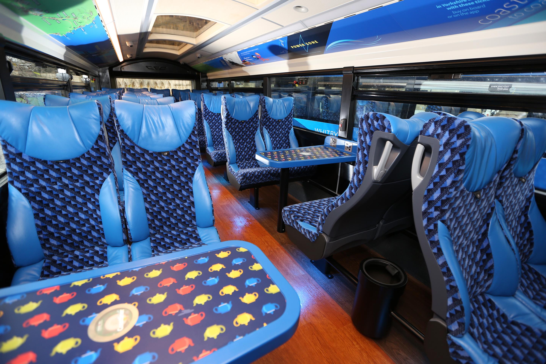 Coastliner interior