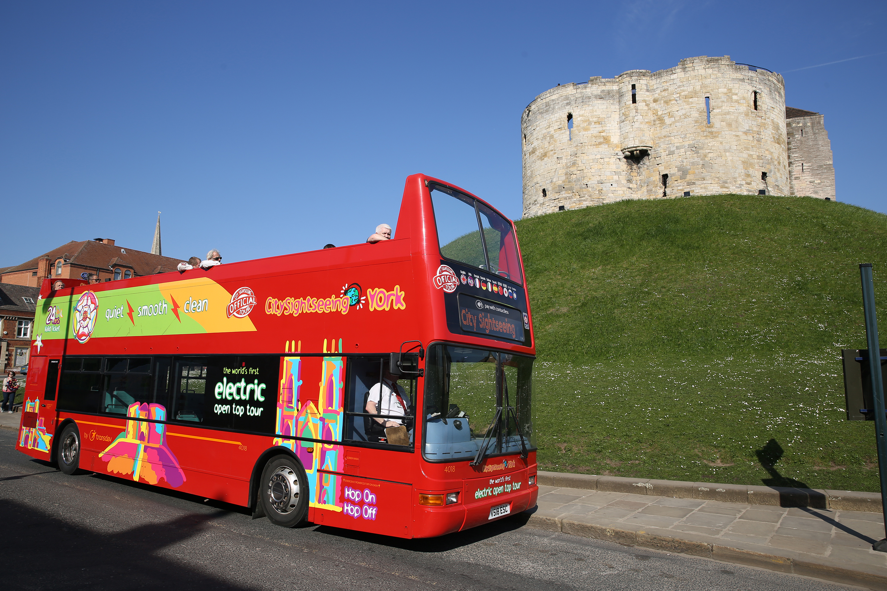 City Sightseeing open topper