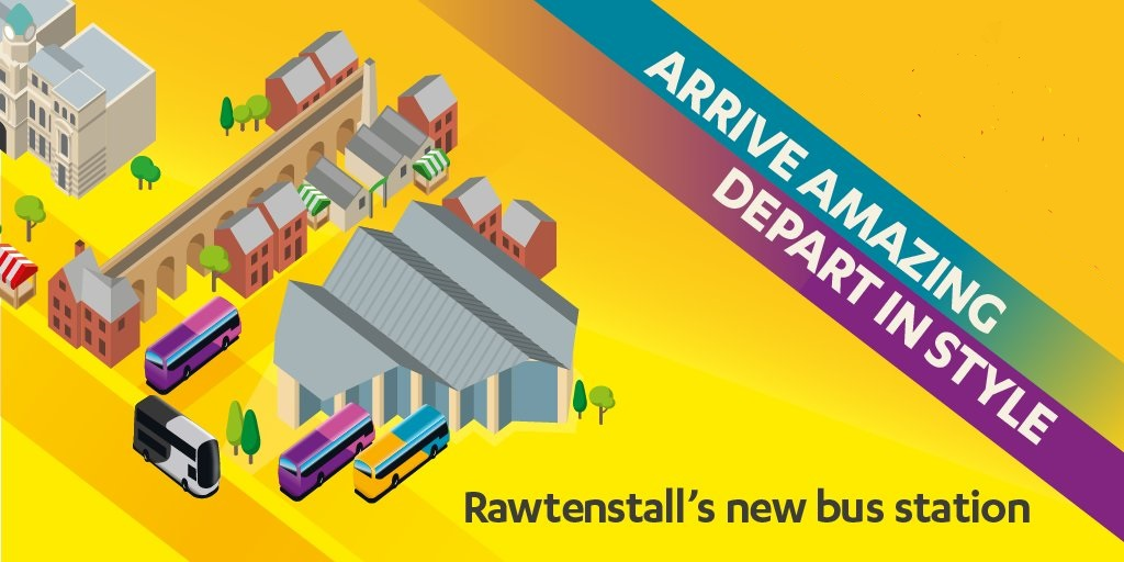 Rawtenstall's bus station is open