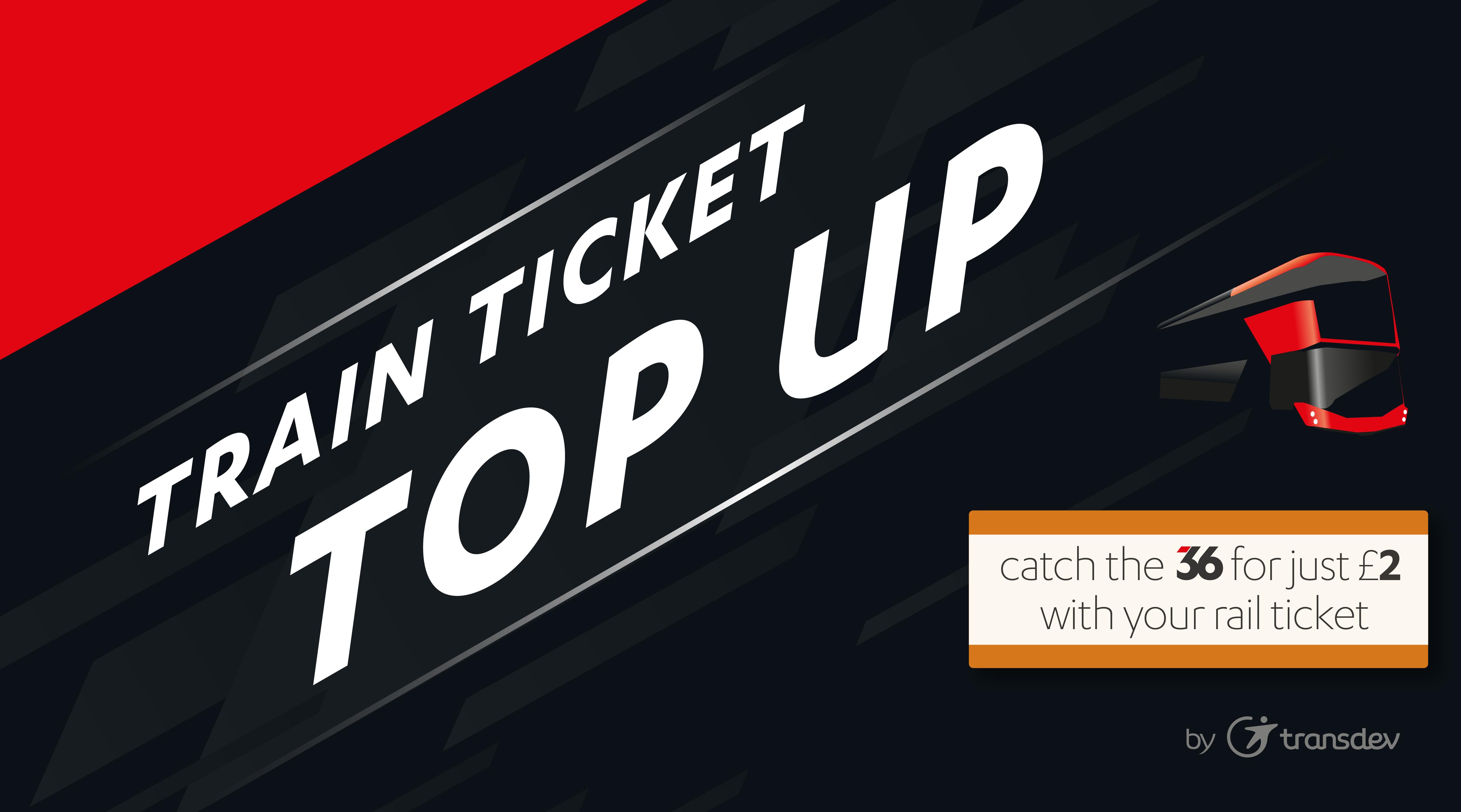 Train ticket topup