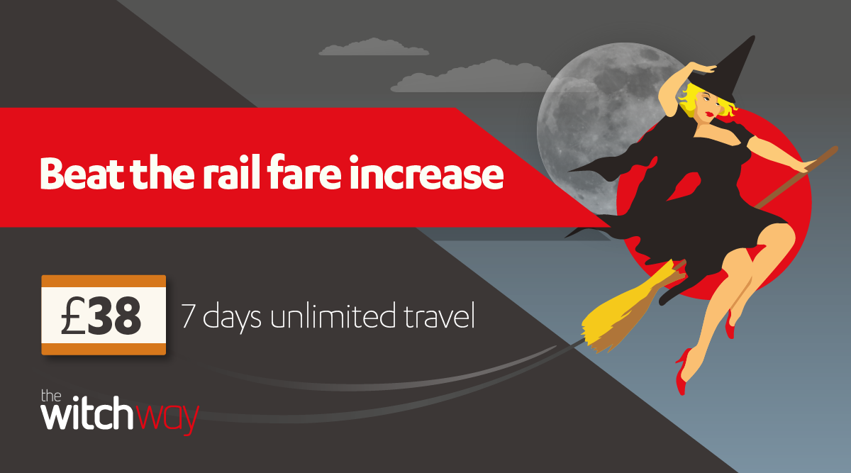 beat the rail fare increase