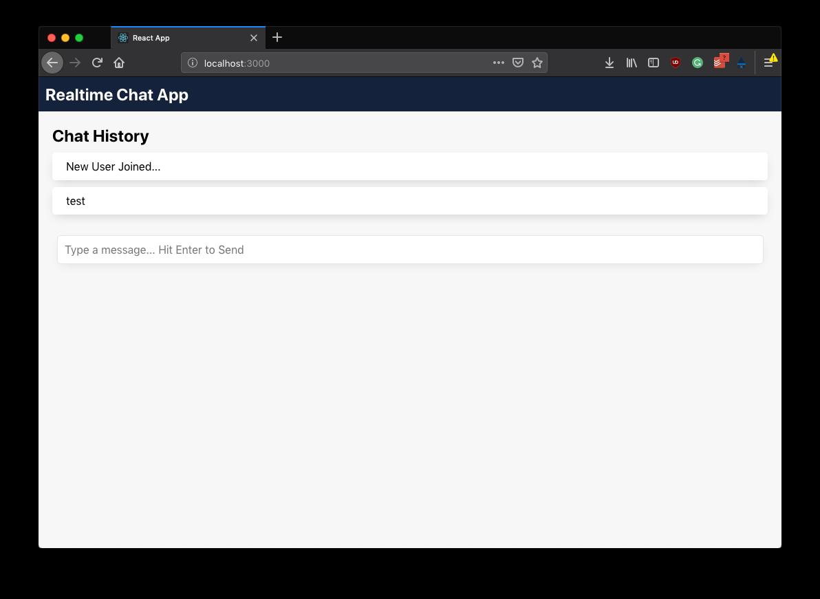 Chat Application Screenshot