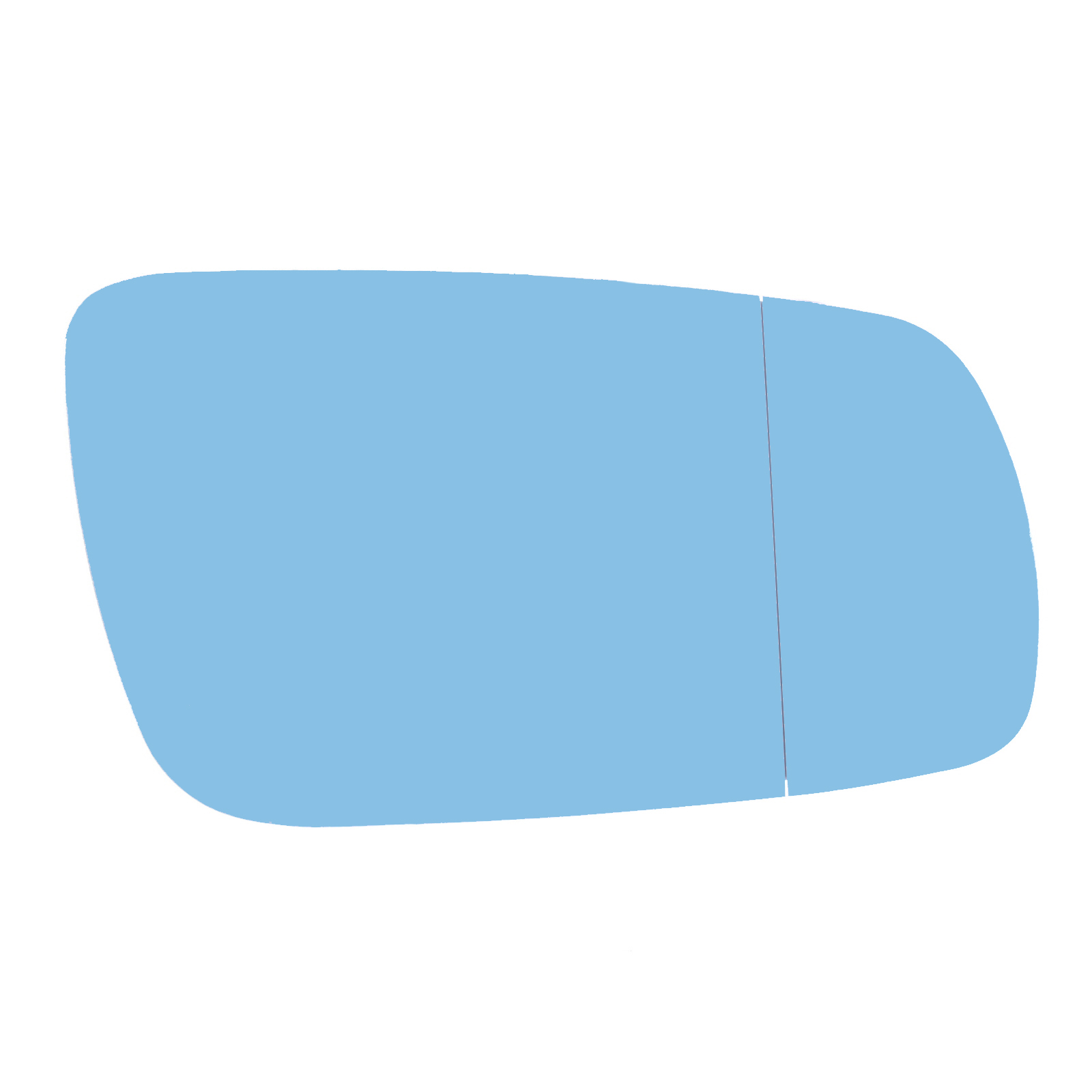 Audi A6 C4 4A Saloon 1994-1997 Heated Aspherical Blue Mirror Glass Drivers Side