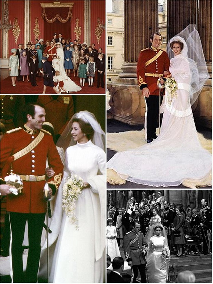 A royal wedding history : Princesses Margaret, Anne and Diana | The ...