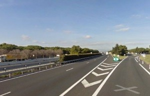 A9, a Ribesaltes