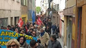 manifestació primer de maig