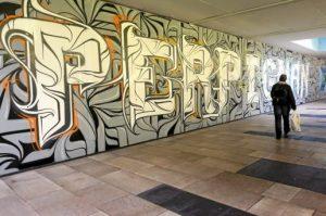 grafitis a Perpinyà