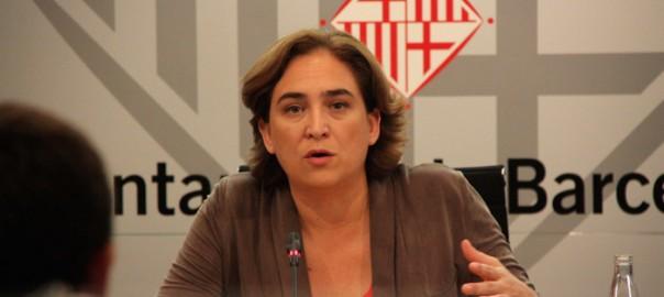 Ada Colau, batllessa de Barcelona.