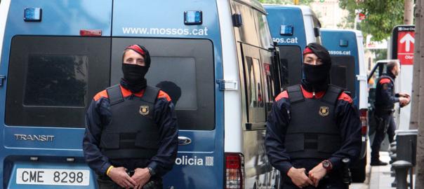 Agents dels Mossos d'Esquadra.