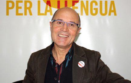 Vicent Moreno, president d'Escola Valenciana.