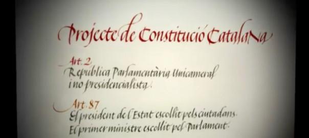 Constitució catalana