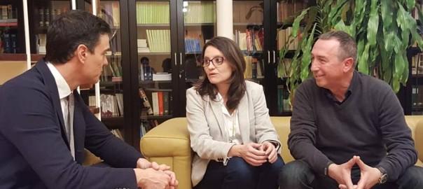 Pedro-Sanchez-Monica-Oltra-Joan-Baldoví