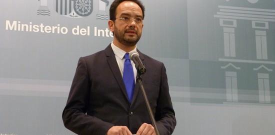 El portaveu del PSOE al Congrés, Antonio Hernando