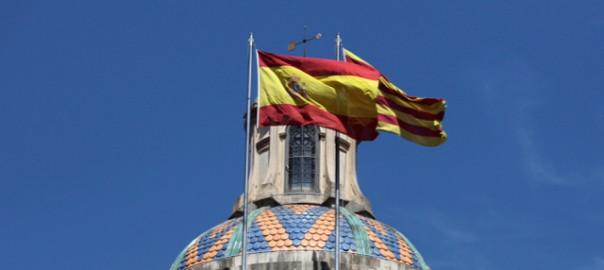 Banderes Palau de la Generalitat
