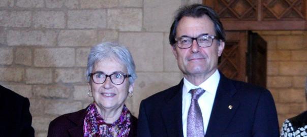 Artur Mas Muriel Casals
