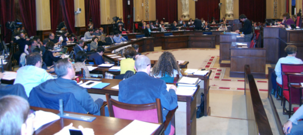Fotografia: Parlament Balear.