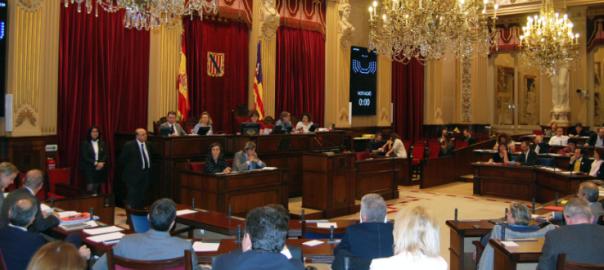 Fotografia: Parlament de les Illes Balears.