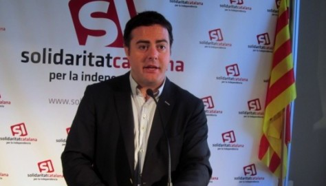 L'actual secretari general de Solidaritat, Uriel Bertran