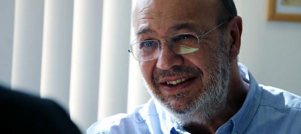 Joan Carles Gallego, al seu depatx (fotografia: Jordi Carreño).