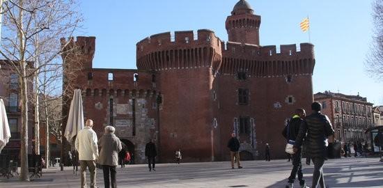 Imatge del Castellet, una de les icones de Perpinyà