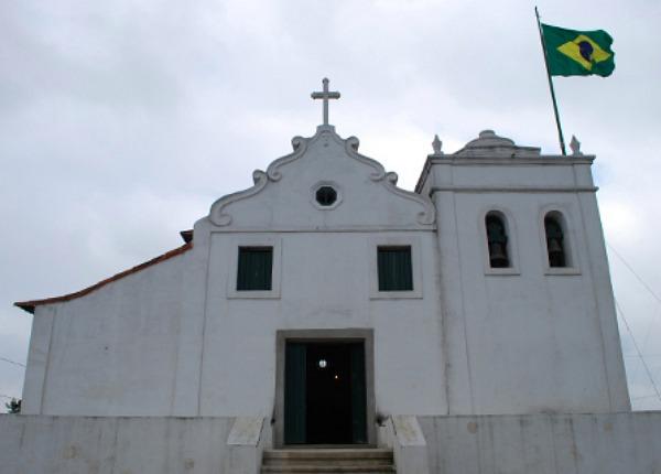 Santuário de Nossa Senhora do Monte Serrat, a Santos (Brasil).