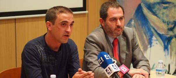 Mateu 'Xurí' i Josep de Luís, candidats de Sobirania per a les Illes.
