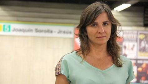 Beatriz Garrote, portaveu i ex-presidenta de l'Associació de Víctimes del Metro 3 de Juliol