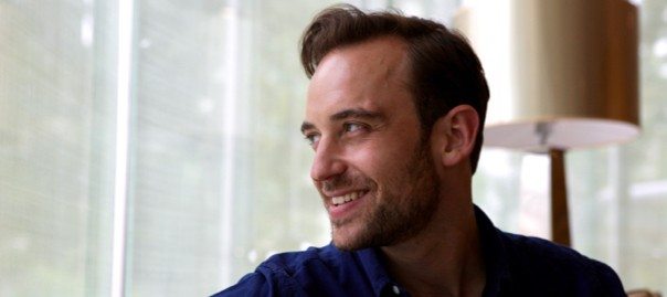 L'escriptor Joël Dicker (fotografia de l'ACN).
