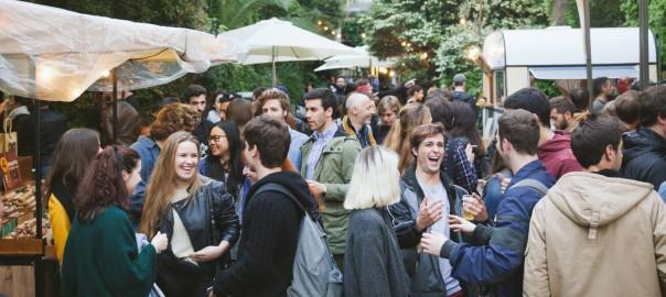 Una imatge de les anteriors edicions de Palo Alto Market a Barcelona.