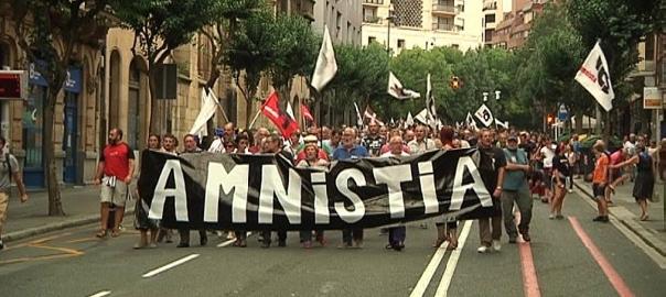 Manifestació del Moviment per l'Amnistia i contra la Repressió, el novembre de 2015.
