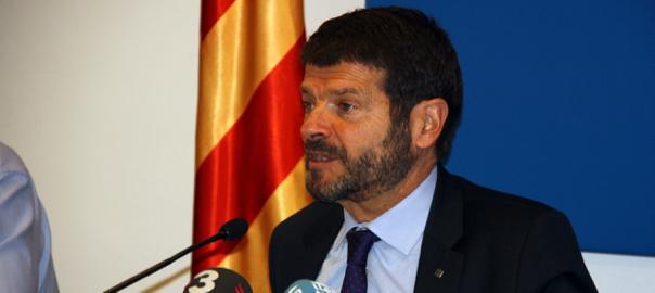 El director general de la Policia, Albert Batlle.