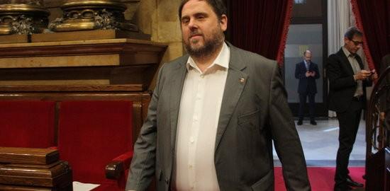 El vice-president del govern, Oriol Junqueras.