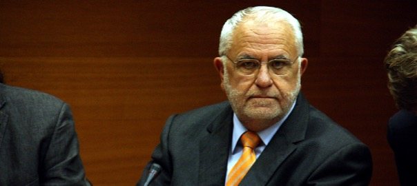 L'ex-president de les Corts, Juan Cotino.