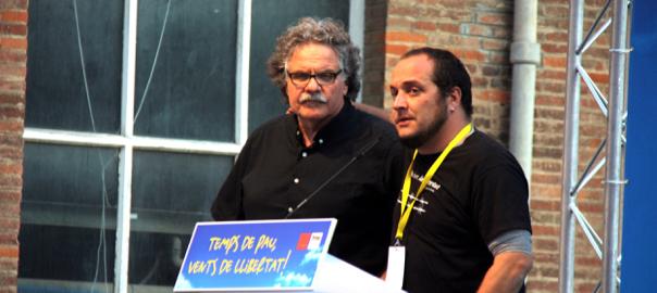 Joan Tardà i David Fernàndez.
