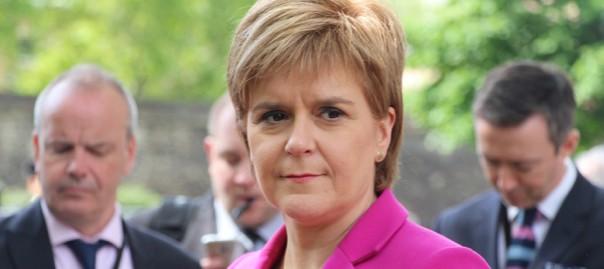 La primera ministra d'Escòcia i líder de l'SNP, Nicola Sturgeon.