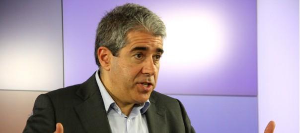 El cap de llista de CDC al congrés espanyol, Francesc Homs.