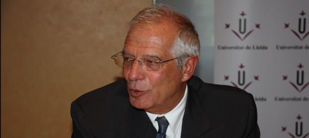 Josep Borrell, ex-ministre entre el 1991 i el 1996.