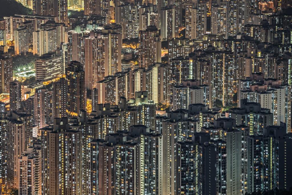 La massificació de Hong Kong (fotografia: Julia Wimmerlin)