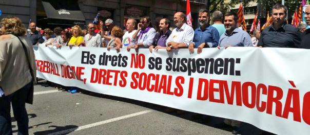Manifestació diumenge contra les prohibicions del TC.