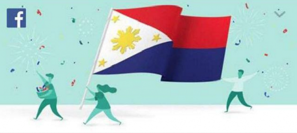 La felicitació errònia de Facebook a les Filipines el dia de la independència.