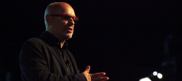 El músic i productor Brian Eno.