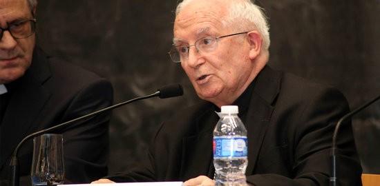 El cardenal arquebisbe de València, Antonio Cañizares.