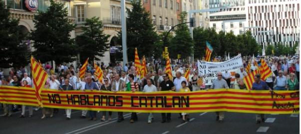 no hablamos catalan