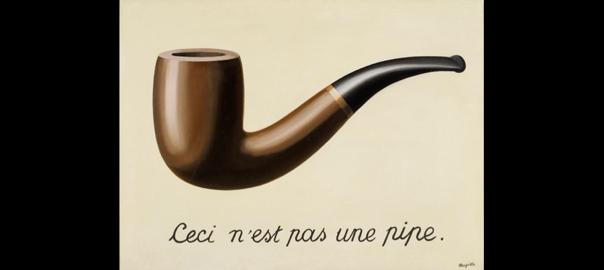 'La traïció de les imatges', René Magritte