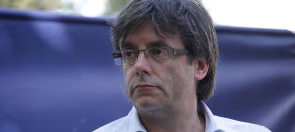 El president Puigdemont a l'Escola d'Estiu de la Joventut Nacionalista de Catalunya (fotografia de l'ACN).
