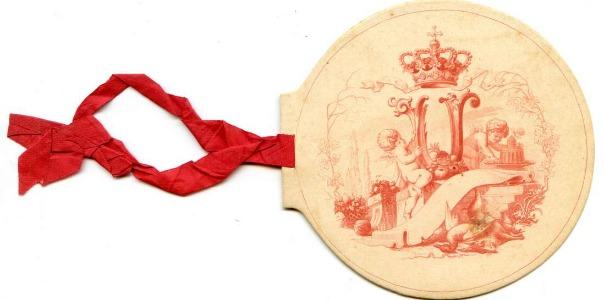 Dinar celebrat a Mila el 1870.
