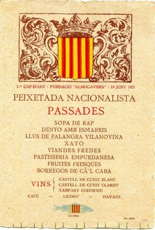 Peixetada Nacionalista del 1921.