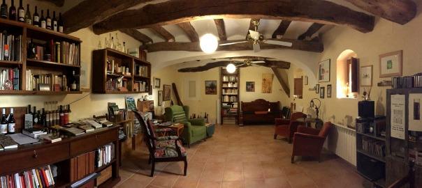 El Perxe, al Molar, seu del Centre Quim Soler la Literatura i el Vi.