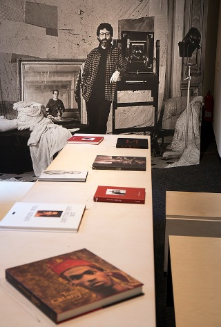 Imatge de l'exposició 'Toni Catany. D'anar i tornar'.