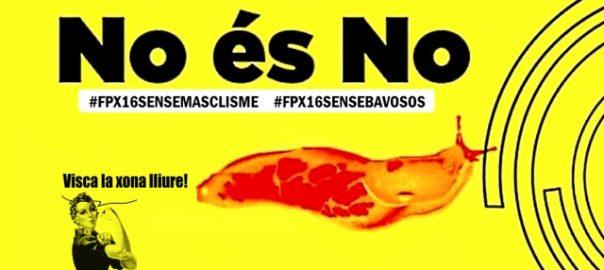 Cartell d'una campanya contra l'assetjament sexual.